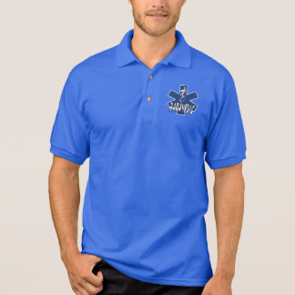 Paramedic Active Star of Life Polo Shirt
