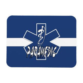 Paramedic Active Star Of Life Rectangular Photo Magnet