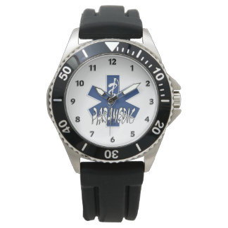 Paramedic Active Star of Life Watches