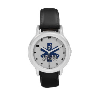 Paramedic Active Star of Life Wrist Watches