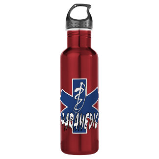Paramedic Active Star Water Bottle