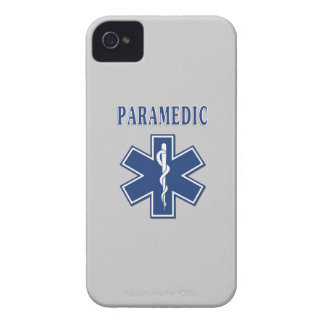 Paramedic Blue Star of Life iPhone 4 Case-Mate Cases