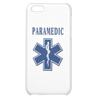 Paramedic Blue Star of Life Case For iPhone 5C