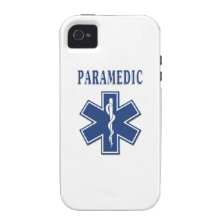 Paramedic Blue Star of Life iPhone 4/4S Cover