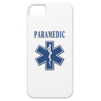 Paramedic Blue Star of Life iPhone 5 Cover