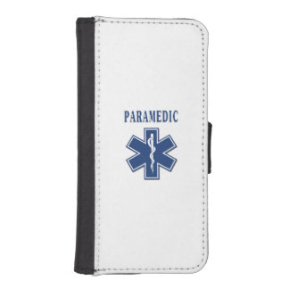 Paramedic Blue Star of Life iPhone 5 Wallets