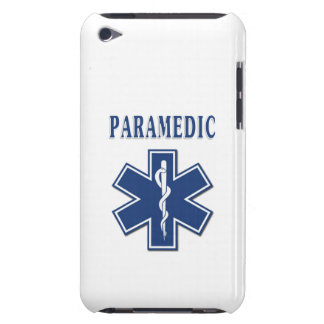 Paramedic Blue Star of Life iPod Touch Cases