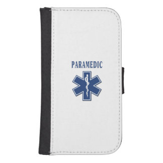 Paramedic Blue Star of Life Phone Wallet Case