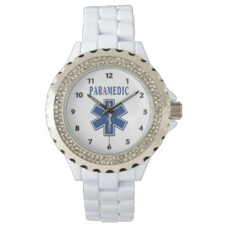 Paramedic Blue Star of Life Watch