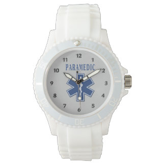 Paramedic Blue Star of Life Watches