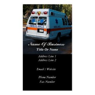 Paramedic Business Card