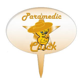 Paramedic Chick #10 Cake Topper