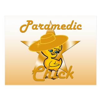Paramedic Chick #10 Postcard