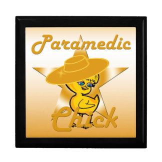 Paramedic Chick #10 Trinket Boxes