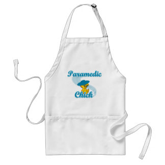 Paramedic Chick #3 Adult Apron