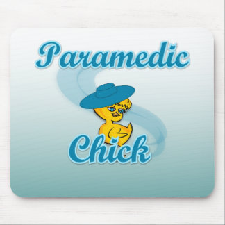 Paramedic Chick #3 Mouse Pad