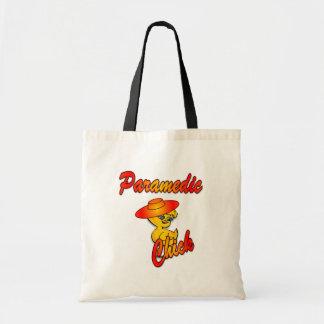 Paramedic Chick #5 Tote Bags