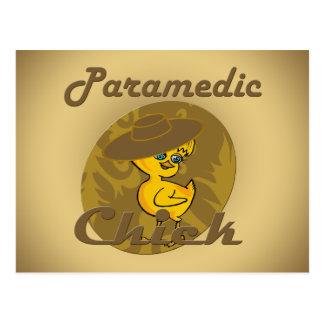 Paramedic Chick #6 Postcard