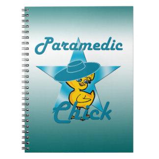 Paramedic Chick #7 Spiral Notebook