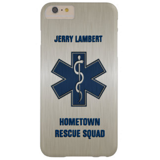 Paramedic Deluxe Name Template Barely There iPhone 6 Plus Case