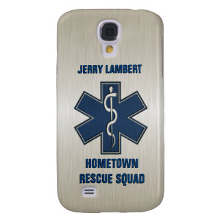 Paramedic Deluxe Name Template Galaxy S4 Cover