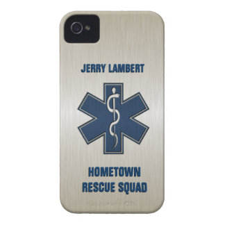 Paramedic Deluxe Name Template iPhone 4 Covers
