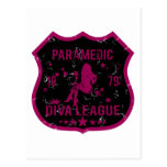 Paramedic Diva League Postcard