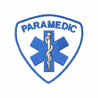 Paramedic Embroidered Track Jacket