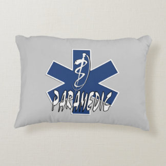 Paramedic EMS Action Accent Pillow