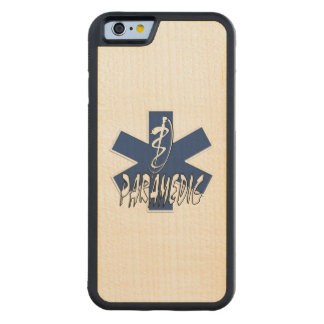 Paramedic EMS Action Carved® Maple iPhone 6 Bumper