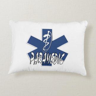Paramedic EMS Action Decorative Pillow
