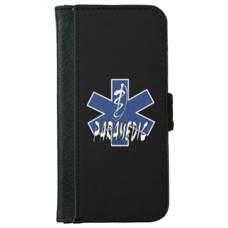 Paramedic EMS Action iPhone 6 Wallet Case