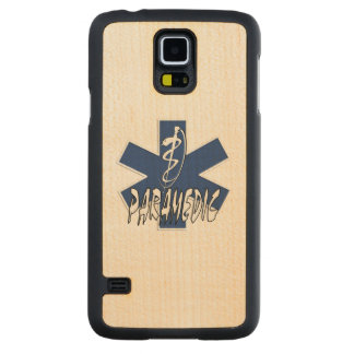 Paramedic EMS Action Carved® Maple Galaxy S5 Slim Case