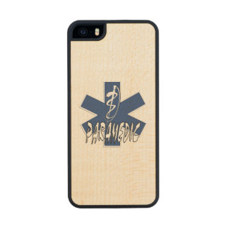 Paramedic EMS Action Carved® Maple iPhone 5 Slim Case