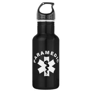 Paramedic EMS Logo 18oz Water Bottle