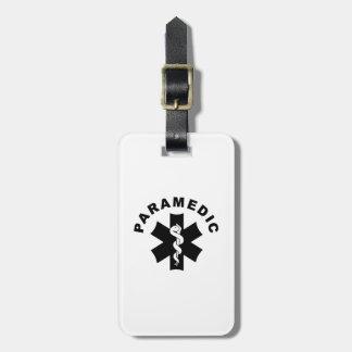 Paramedic EMS Logo Travel Bag Tags