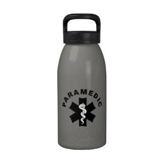 Paramedic EMS Logo Reusable Water Bottles