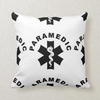 Paramedic EMS Logo Throw Pillows