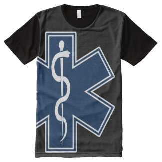 Paramedic EMT EMS All-Over-Print T-Shirt