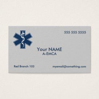 Paramedic EMT EMS Business Card