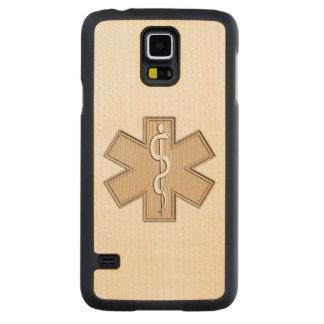 Paramedic EMT EMS Carved® Maple Galaxy S5 Slim Case