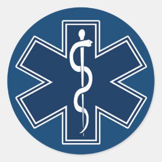 Paramedic EMT EMS Classic Round Sticker