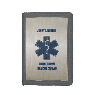 Paramedic EMT EMS Deluxe Tri-fold Wallet