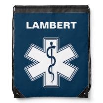 Paramedic EMT EMS Drawstring Bag