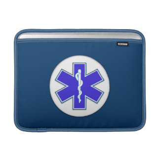 Paramedic EMT EMS Sleeves For MacBook Air
