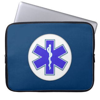 Paramedic EMT EMS Laptop Sleeves