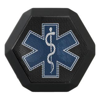 Paramedic EMT EMS Logo Black Bluetooth Speaker