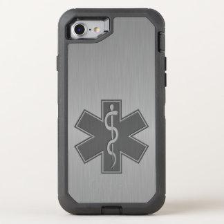 Paramedic EMT EMS Modern OtterBox Defender iPhone 8/7 Case