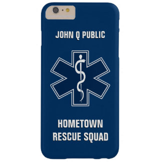 Paramedic EMT EMS Name Template Barely There iPhone 6 Plus Case