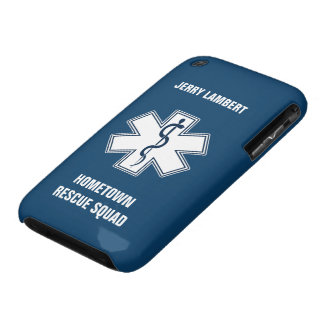 Paramedic EMT EMS Name Template Case-Mate iPhone 3 Case
